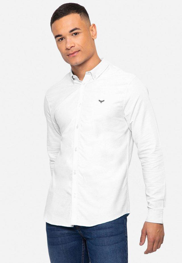 OXFORD BEACON - Camicia - white