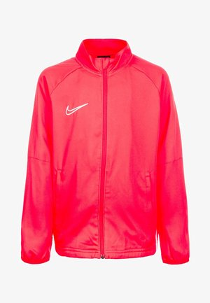 DRY ACADEMY - Veste de survêtement - bright crimson/white