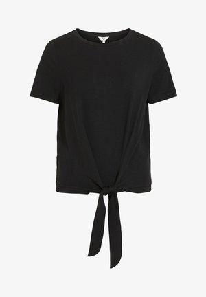VORN GEBUNDENES - Print T-shirt - black