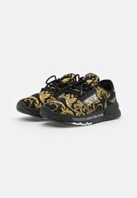 Versace Jeans Couture - DYNAMIC - Baskets basses - nero/oro - 1