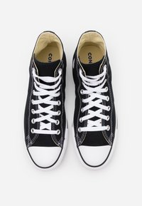 Converse - CHUCK TAYLOR ALL STAR WIDE - High-top trainers - black - 3