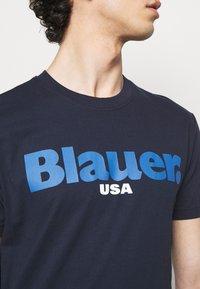 Blauer - T-shirt con stampa - blue - 4