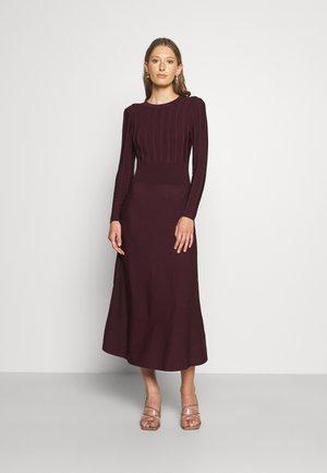 AIMYY PRINT EFFECT OPEN BACK DRESS - Jumper dress - purple
