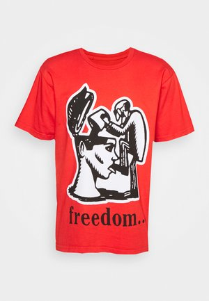 FREEDOM - T-shirt print - oxy fire