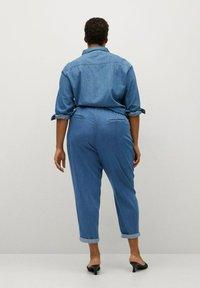 Violeta by Mango - NAIROBI - Pantalones - mittelblau - 2