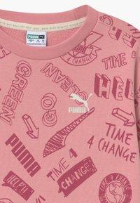Puma - CREW - Bluza - dusty pink - 3