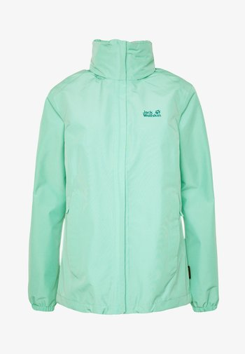 STORMY POINT JACKET W - Waterproof jacket - pacific green