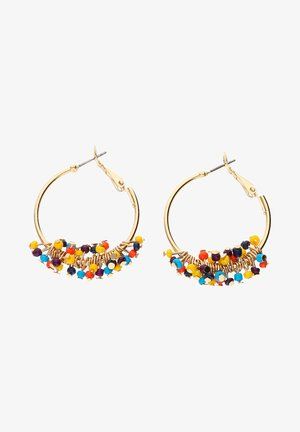 Earrings - multi-coloured