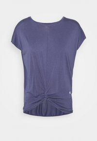 Deha - KNOT - T-shirt print - moonlight avio blue - 0