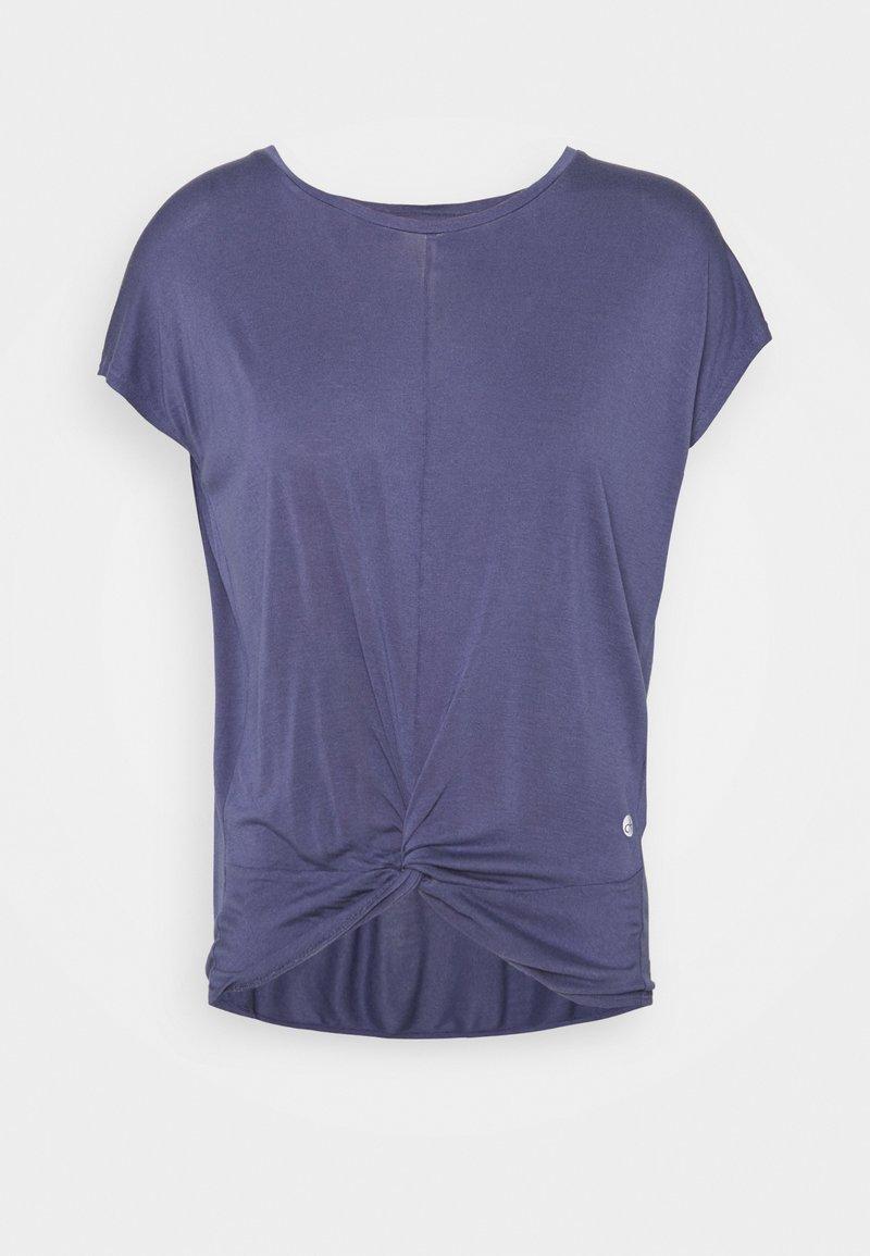 Deha - KNOT - T-shirt print - moonlight avio blue