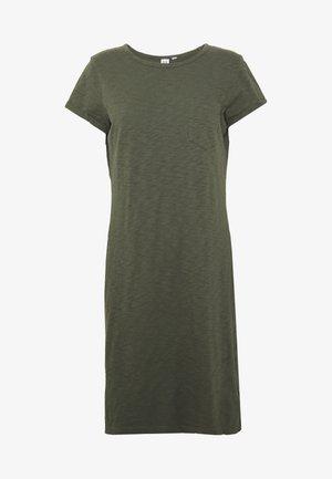 TEE DRESS - Žerzejové šaty - baby tweed
