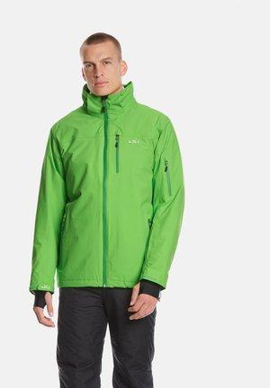 BERGEN - Snowboardjas - lime
