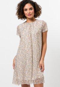 zero - Day dress - raw cotton - 0