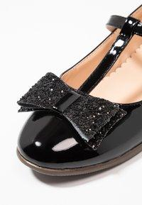 Friboo - Ballerinaskor med remmar - black - 2