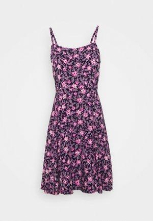 CAMI DRESS - Day dress - navy/purple