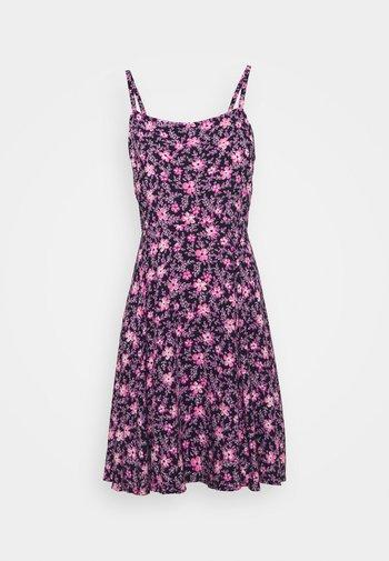 CAMI DRESS - Kjole - navy/purple