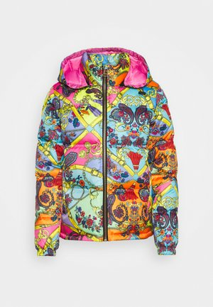 Winter jacket - rose wild orchid
