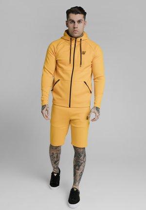 Zip-up sweatshirt - yellow