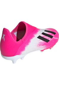 adidas Performance - ADIDAS PERFORMANCE X 19.3 LL FG FUSSBALLSCHUH  - Moulded stud football boots - footwear white / core black / show pink - 3