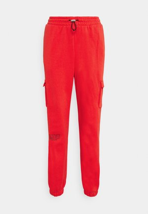 PANT - Tracksuit bottoms - crimson/black