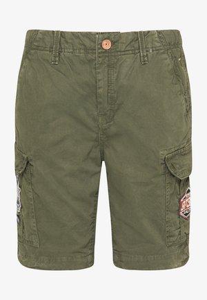 Cargo trousers - dark army