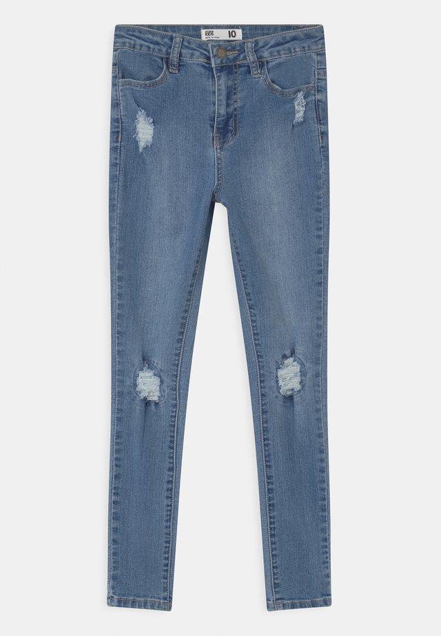 SALLY  - Skinny džíny - blue