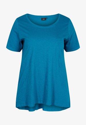 KURZARM - Basic T-shirt - moroccan blue
