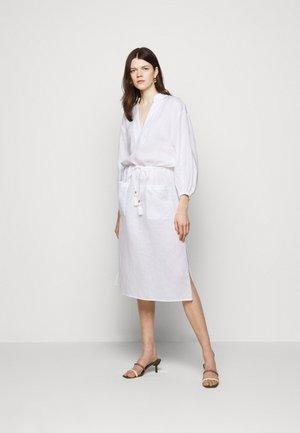 MIDI TUNIC DRESS - Day dress - white