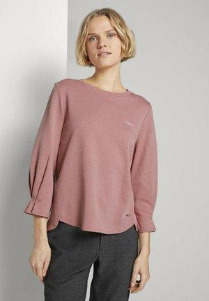 Long sleeved top - cozy rose
