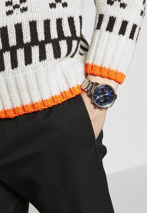 WATCH - Reloj digital - silver-coloured/blue