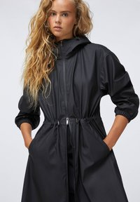 OYSHO - Waterproof jacket - black - 3