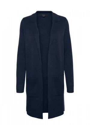 VERO MODA  VMTASTY FULLNEEDLE - Krótki płaszcz - blau