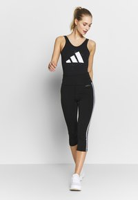 adidas Performance - GRAPH LEOTARD - Danspakje - black - 1
