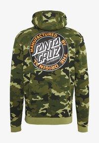 Santa Cruz - unisex dot hoodie - Hoodie - woodland - 1