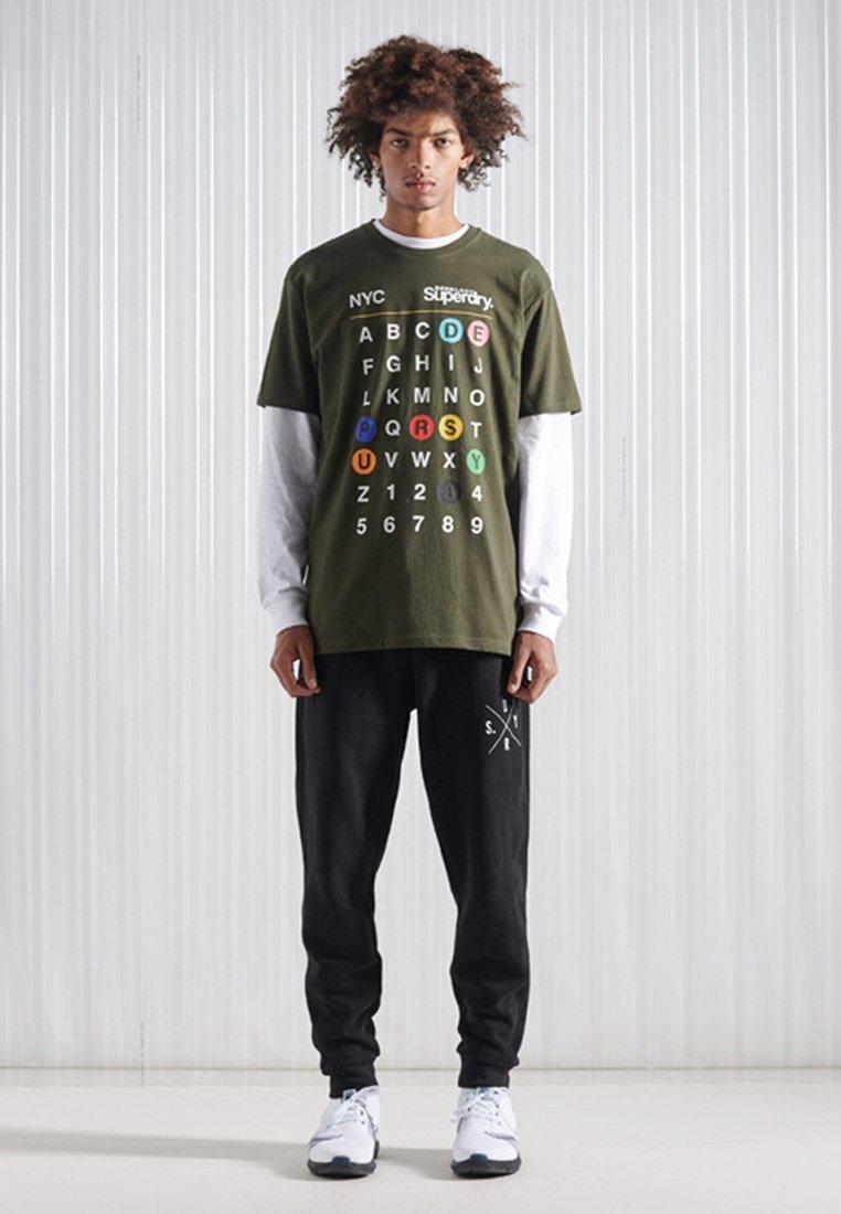 Homme CORE LOGO TRANSIT - T-shirt imprimé