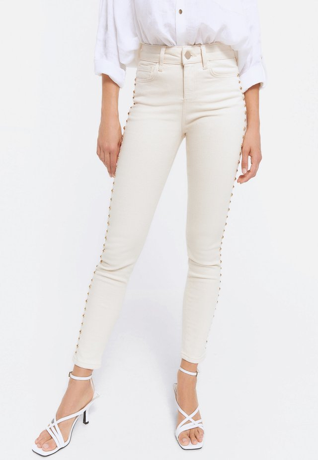 00120660 - Leggings - Trousers - white