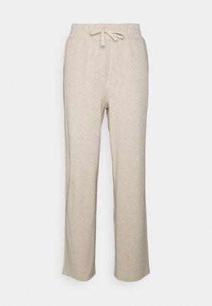 CESARINE PANTS - Kalhoty - pastel parchment melange