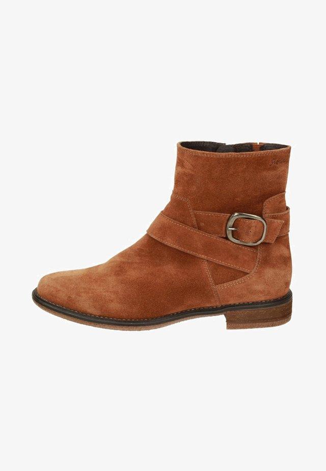 HOARA - Korte laarzen - brown