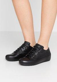Candice Cooper - ROCK - Sneakers - ninja antracite/nero - 0