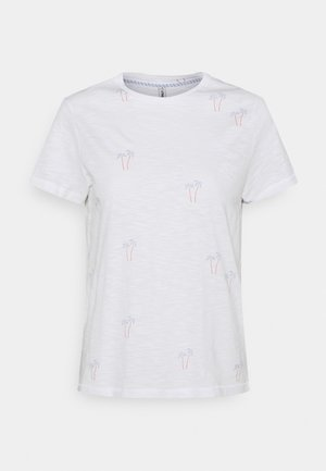 ONLBONE LIFE TOP BOX - T-shirt con stampa - bright white