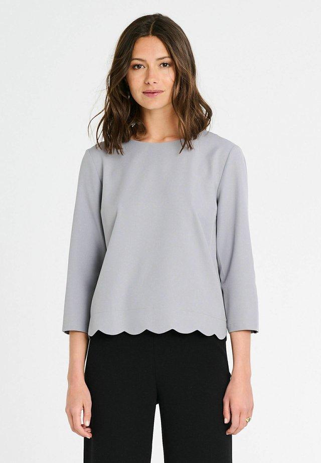 MADISON MAROCAIN - Blouse - grey