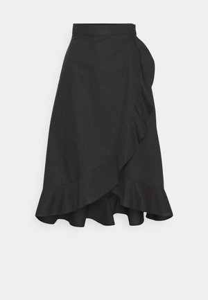SCETTICO - A-line skirt - black