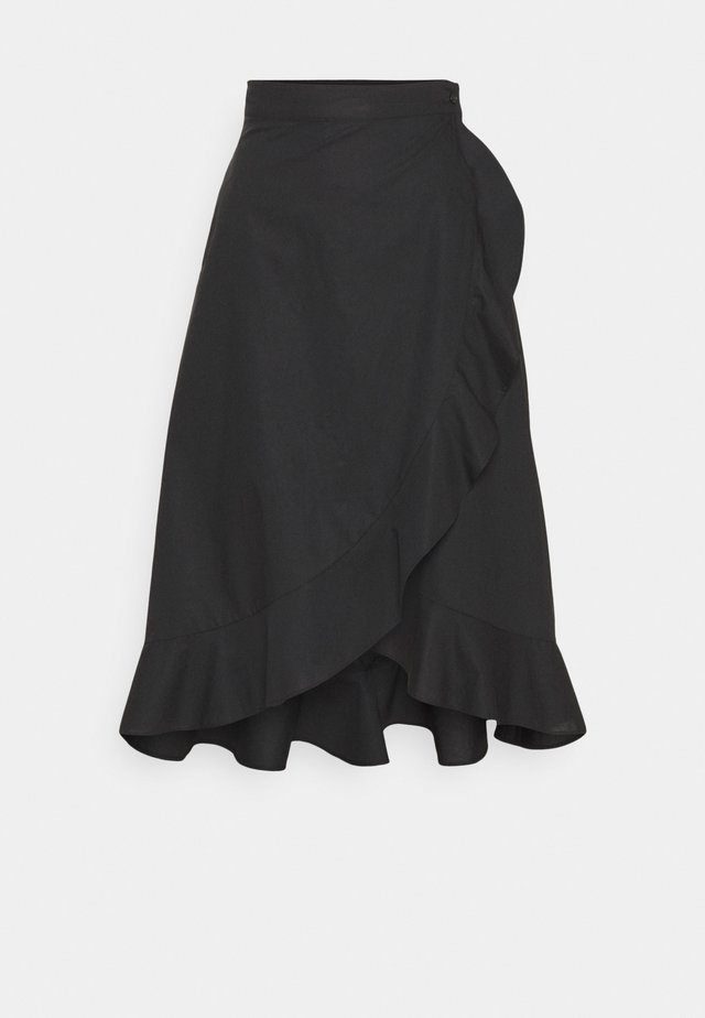 SCETTICO - Spódnica trapezowa - black