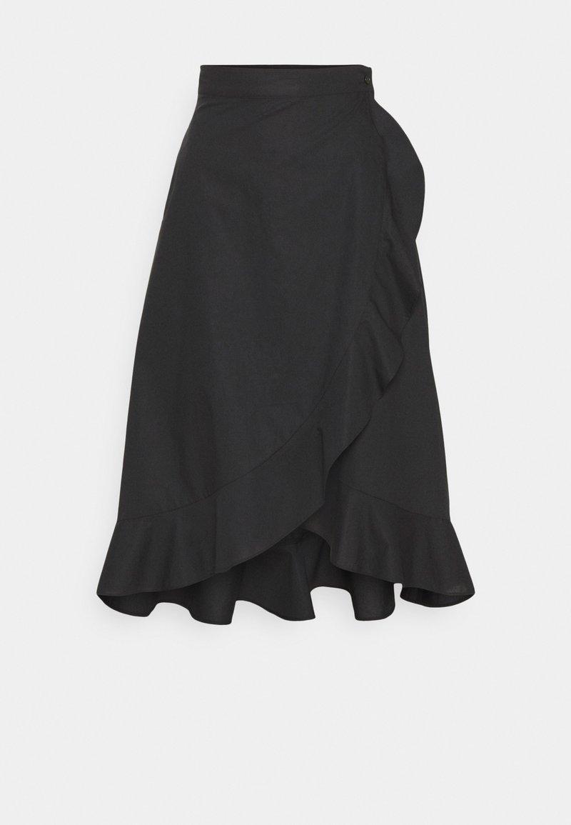 Pinko - SCETTICO - Áčková sukně - black
