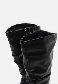 Tamaris - BOOTS - Støvler - black - 5