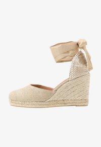 Castañer - CARINA  - High heeled sandals - oro claro - 1