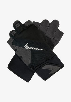 PREMIUM FITNESS GLOVE - Fingerhansker - black/volt/white