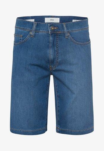 STYLE BALI - Denim shorts - blue