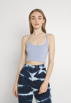 STRAPPY BACK CAMI - Top - pale blue