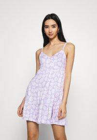 Hollister Co. - BARE DRESS - Jerseykjole - lavender - 0